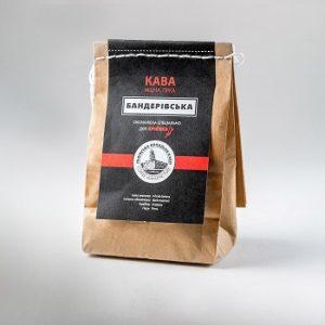 Купити Кава Бандерівська - концептуальні сувеніри, подарунки та смаколики від Just Lviv It! Незвичайні та яскраві сувеніри зі Львова