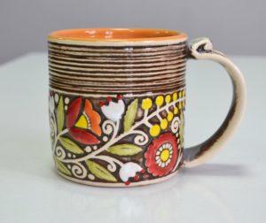 Купити Горнятко керамічне кольорове коричневе - концептуальні сувеніри, подарунки та смаколики від Just Lviv It! Незвичайні та яскраві сувеніри зі Львова