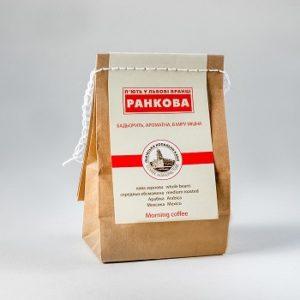 Купити Кава Ранкова - концептуальні сувеніри, подарунки та смаколики від Just Lviv It! Незвичайні та яскраві сувеніри зі Львова