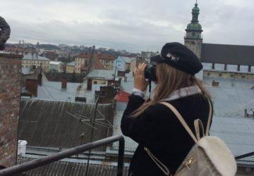 Selfie in Lviv