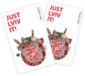 Картка Just Lviv It для учвсників бонусної програми мережі ресторанів !Fest